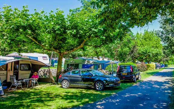 emplacement camping caravaning Cevennes